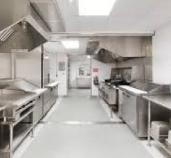Food Processing, Kitchen & Laundry